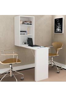 Armário Multiuso Com Mesa Para Computador Am-3106 - Tecno Mobili - Branco