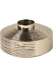 Vaso Decorativo De Metal Bedford