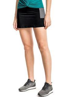 Shorts-Saia Preto Liberta