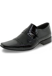 Sapato Masculino Social Jota Pe - 77701 Verniz/Preto 37