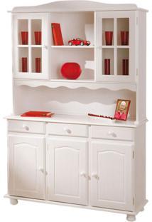 Cozinha Compacta Vitrine Siena 5 Pt 3 Gav Branco