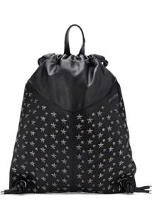Jimmy Choo Marlon Drawstring Backpack - Preto