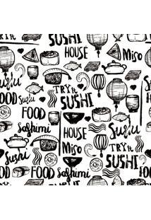 Papel De Parede Adesivo Sushi House (0,58M X 2,50M)