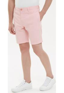 Bermuda Color Chino - Rosa Claro - 40