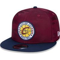 Boné New Era 950 Cleveland Cavaliers Aba Reta Vinho 4f419b95590