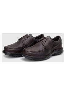 Sapato Em Couro Hayabusa Support 260 Chocolate