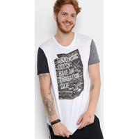 Camiseta Triton Good Music Tricolor Masculina - Masculino-Branco b74f33f79c353