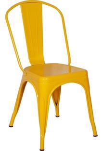 Cadeira Império Brazil Amarelo