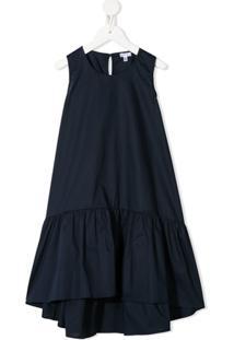 Piccola Ludo Vestido Sem Mangas - Azul