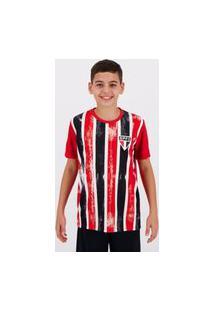 Camisa São Paulo Fold Infantil Vermelha