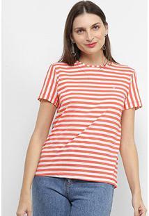 Camiseta Forum Listrada Feminina - Feminino-Laranja