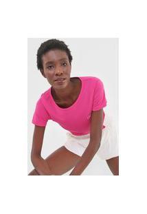 Camiseta Live! Action Essential Pink