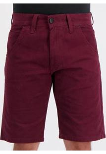 Bermuda Hd Color Marked Especial Masculina - Masculino-Vermelho
