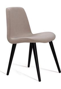 Cadeira De Jantar Eames Palito Bege