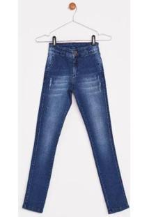 Calça Jeans Express Infantil Erick - Masculino-Azul