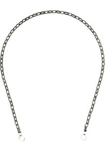 Marla Aaron Biker Chain Necklace - Metallic