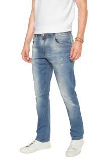 d369da98ee Calça Jeans Polo Wear Skinny Premium Azul