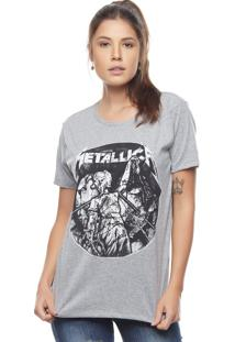 Camiseta Bossa Brasil Metallica Mescla - Kanui