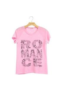 T-Shirt Lucy In The Sky Romance Rosa