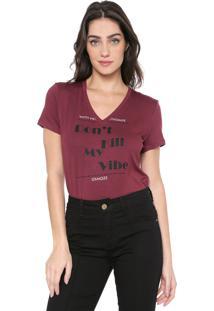 Camiseta Osmoze Camiseta Vinho