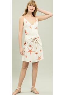 Vestido Com Faixa Estampa Starfish - Lez A Lez