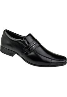 Sapato Social Paganezzi Masculino - Masculino-Preto