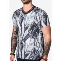 Zattini. Camiseta Hermoso Compadre Foliage Masculina ... a376b65d78
