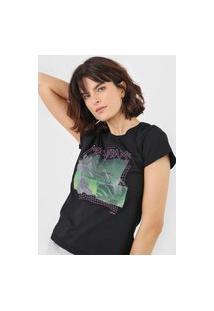 Camiseta Forum Mainframe Preta
