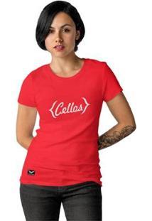 Camiseta Cellos Retro Premium Feminina - Feminino