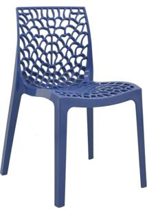 Cadeira Gruv -Rivatti - Azul