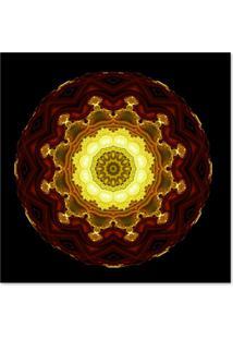 Quadro Abstrato Iii Uniart Colorido 30X30Cm