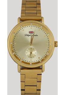 8ab977cd0f7 Relógio Analógico Philiph London Feminino - Pl81007145F Dourado - Único