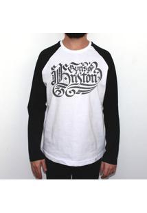 Guns Of Brixton - Camiseta Raglan Manga Longa Masculina
