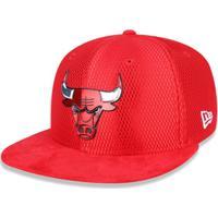 Bone 950 New Era Chicago Bulls Nba Aba Reta Snapback - Masculino-Vermelho c12e7809bef