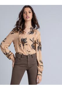 Camisa Manga Longa Estampa Venice - Lez A Lez