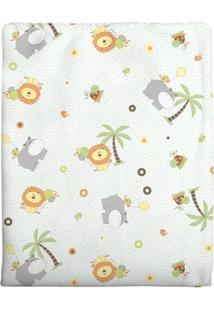 Cobertor Incomfral 100% Algodão Para Bebê 90 X 1,10Cm - Masculino