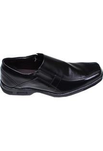 Sapato Masculino Confort Social Bertelli Preto