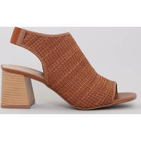 2189c9180 Sandália Caramelo Marrom feminina | Shoes4you
