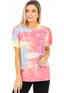 Camiseta Energia Natural Tie Dye Feminina - Unissex