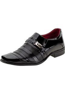 Sapato Masculino Social Sociale - 012 Verniz/Preto 37