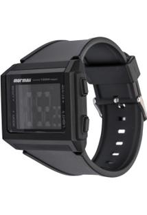 Relógio Digital Mormaii Mo9430Aa - Unissex - Preto