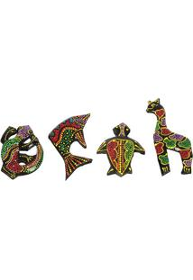 Imãs De Geladeira Animais Batik | Lombok