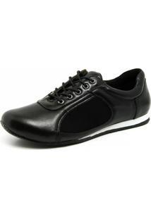 Sapatênis Magnético Doctor Shoes 603 Preto