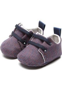 Sapato Pimpolho Menino Azul