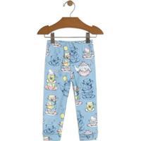 112cfbfba Calça Bebê Hello Kitty Suedine Feminino - Feminino-Azul Claro