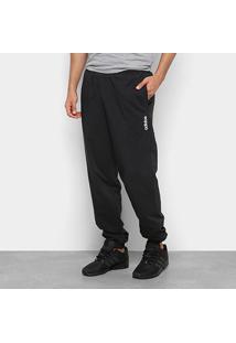 Calça Jogger Adidas Logo Lateral E Pln T Stanfrd Masculina - Masculino-Preto