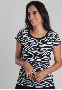 Camiseta Feminino Lara Zebra