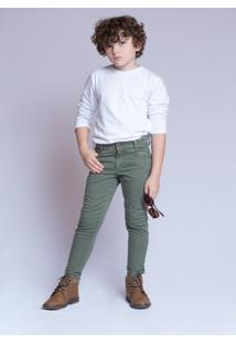 Calça Sarja Mrx Jeans Verde