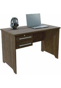 Escrivaninha/Mesa Para Computador Com 2 Gavetas Berlim Noce - Urbe Móveis