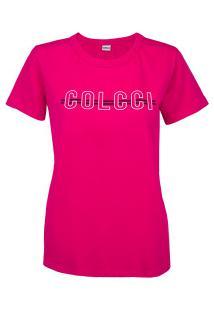 Camiseta Colcci Básica - Feminina - Rosa